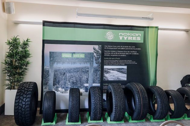 Nokian Tyres 2018 line | Photo: Matt St-Pierre