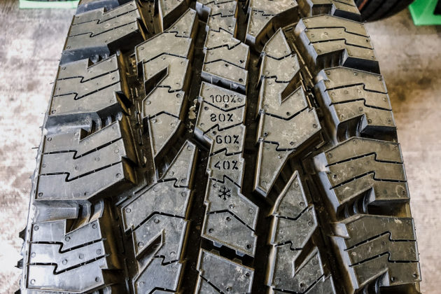 Nokian Tyres ROTIVA AT tread wear | Photo: Matt St-Pierre