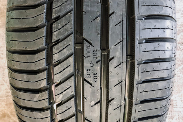 Nokian Tyres zLINE A/S tread wear | Photo: Matt St-Pierre