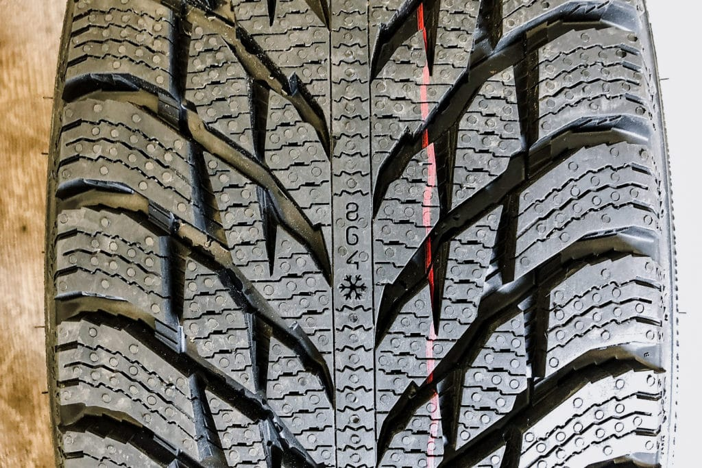Nokian Tyres Hakkapeliitta R3 SUV tread wear | Photo: Matt St-Pierre
