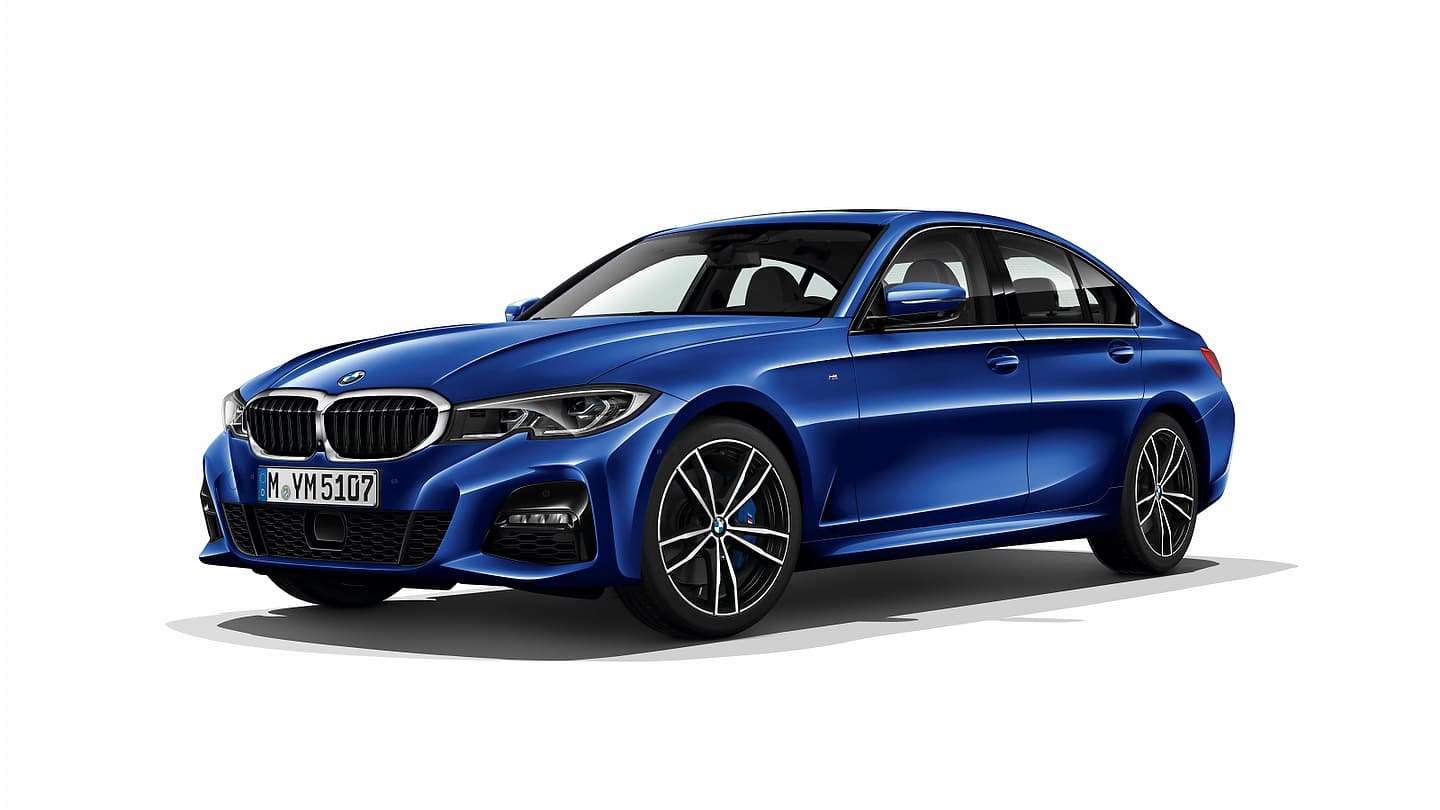 new 2019 g20 bmw 3 series pictures motor illustrated. Black Bedroom Furniture Sets. Home Design Ideas