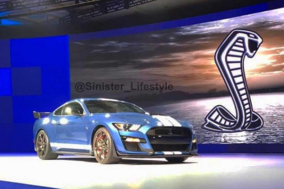 2019 ford mustang shelby gt500 leaked