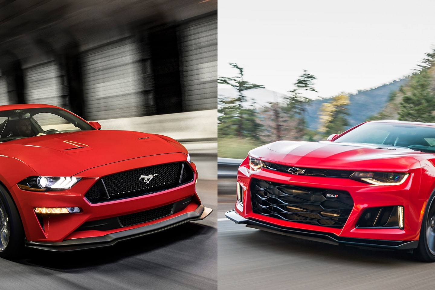 2019 ford mustang vs 2019 chevrolet camaro
