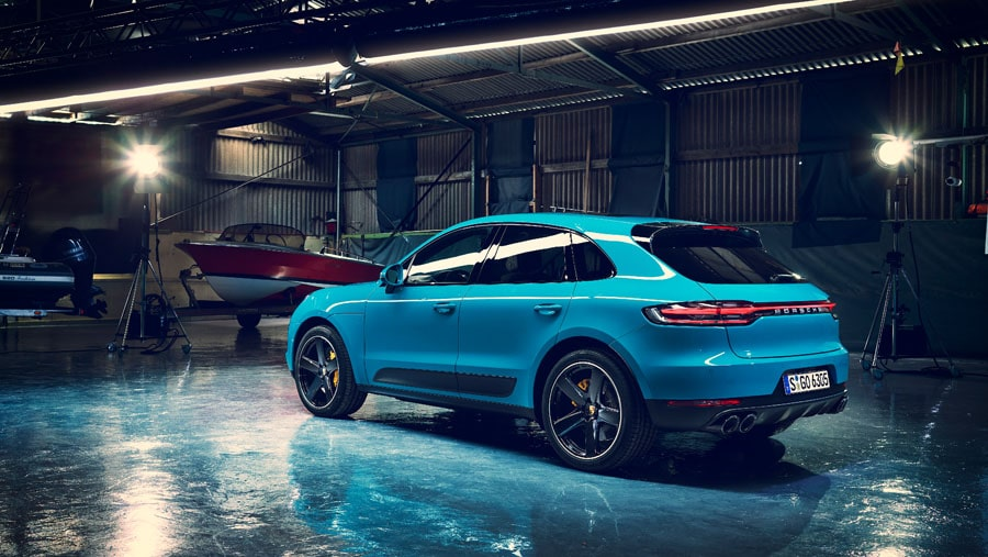 New Porsche Macan