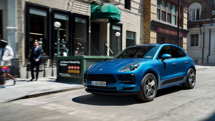 2019 porsche macan paris motor show motor illustrated. Black Bedroom Furniture Sets. Home Design Ideas