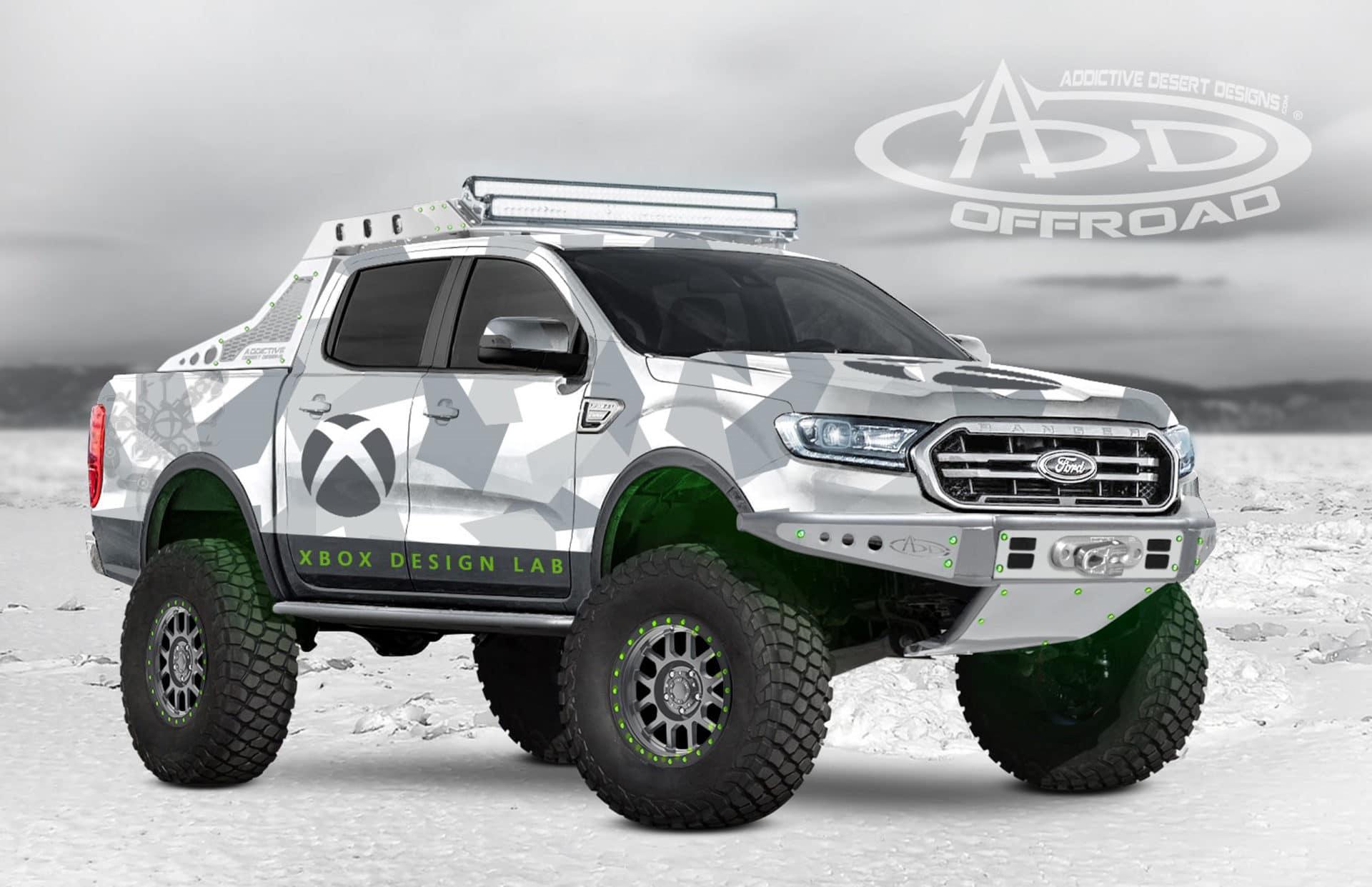 2019 Ranger XLT FX4 SuperCrew by Addictive Desert Designs