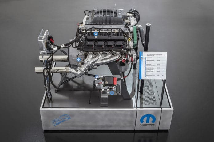 Hellephant 426 Supercharged Mopar Crate HEMI Engine