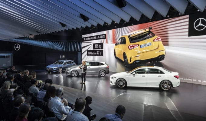 Mercedes-Benz 2018 Paris Motor Show
