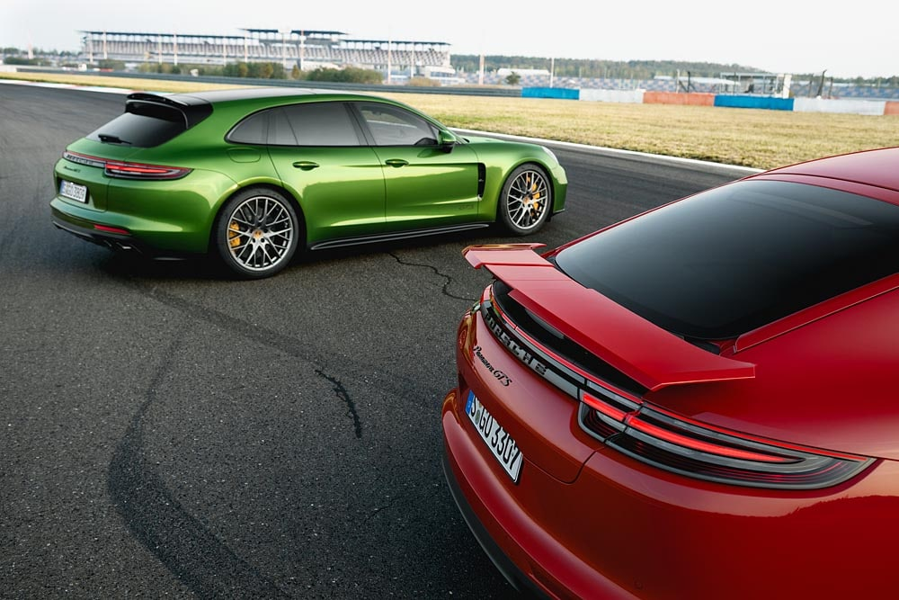 2020 porsche panamera gts and gts sport turismo on their way motor illustrated 2020 porsche panamera gts and gts sport