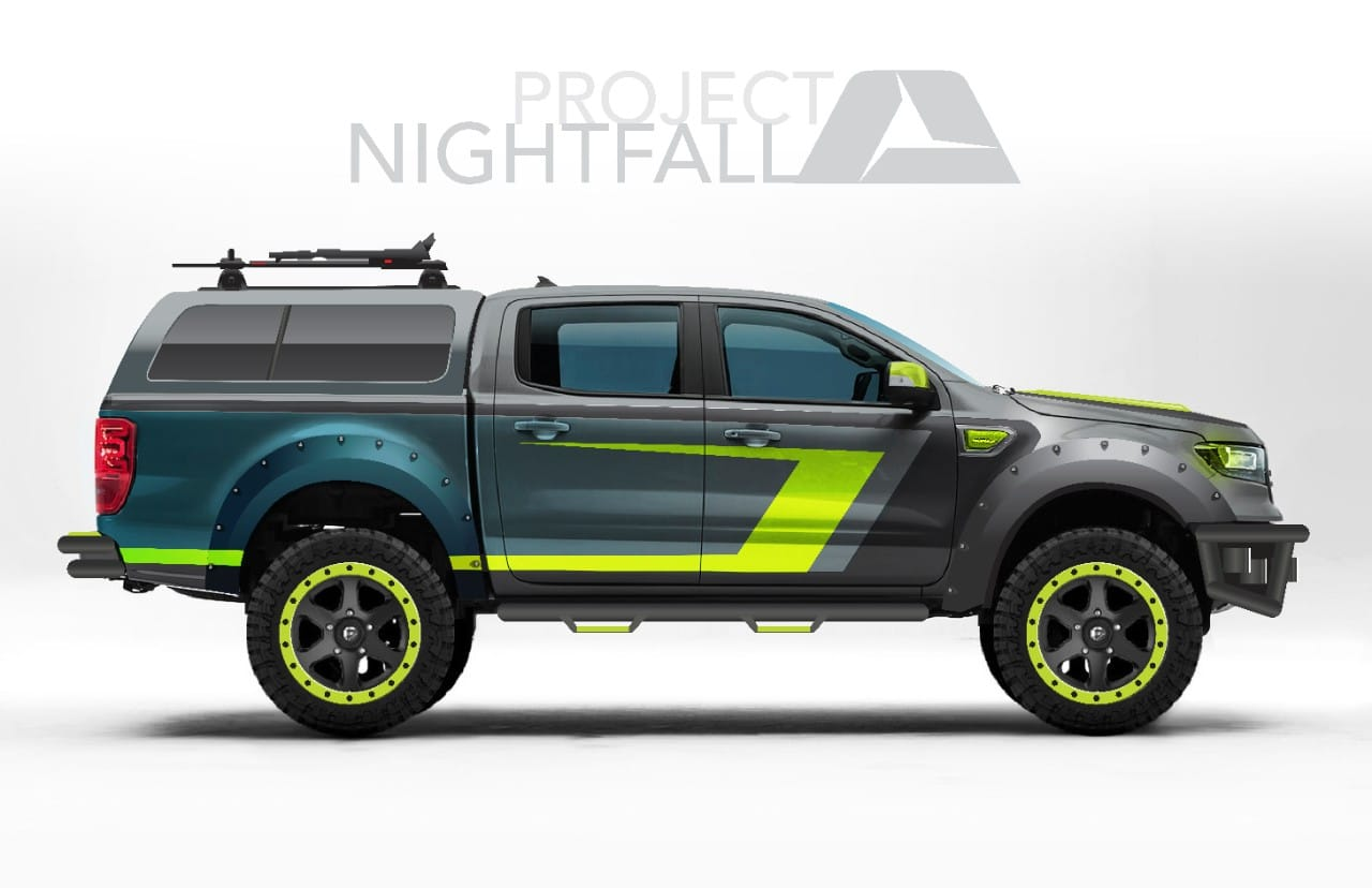 ARE 2019 Ford Ranger NightFall Concept