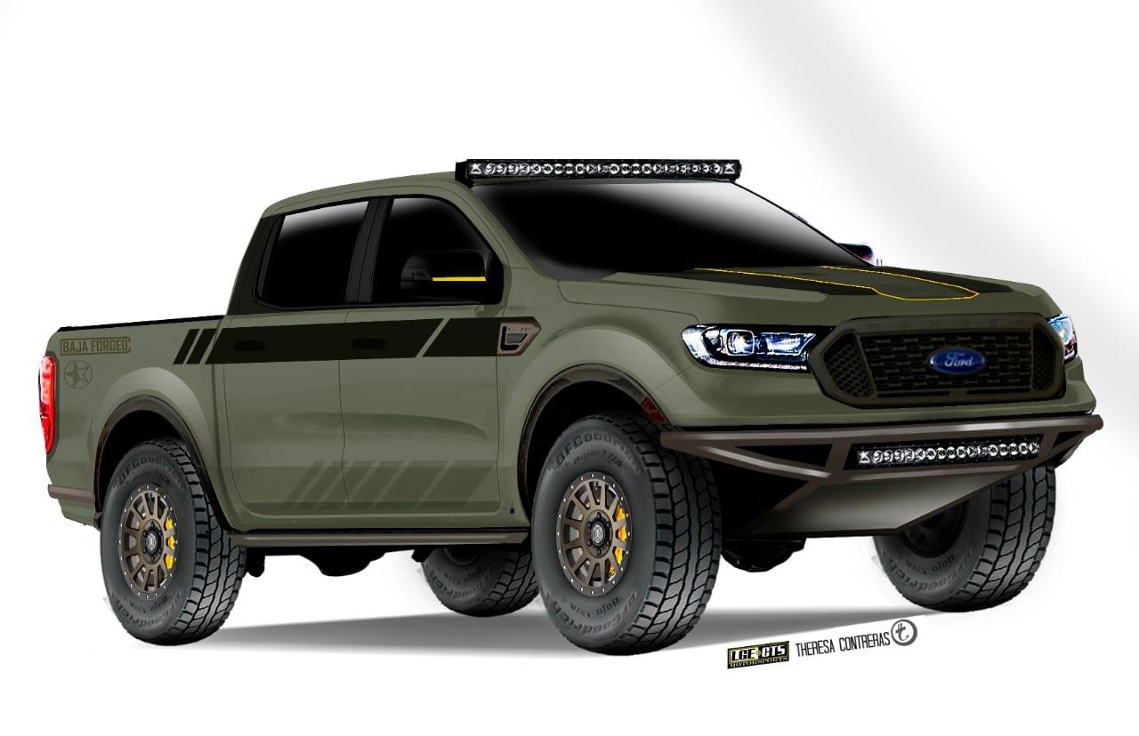 2019 Baja-forged Ranger XLT FX4 SuperCrew by LGE*CTS Motorsports