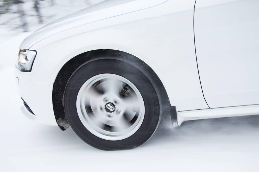 Winter tires test