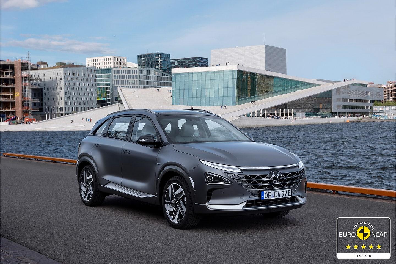 Hyundai NEXO achieves five-star rating in Euro NCAP testing