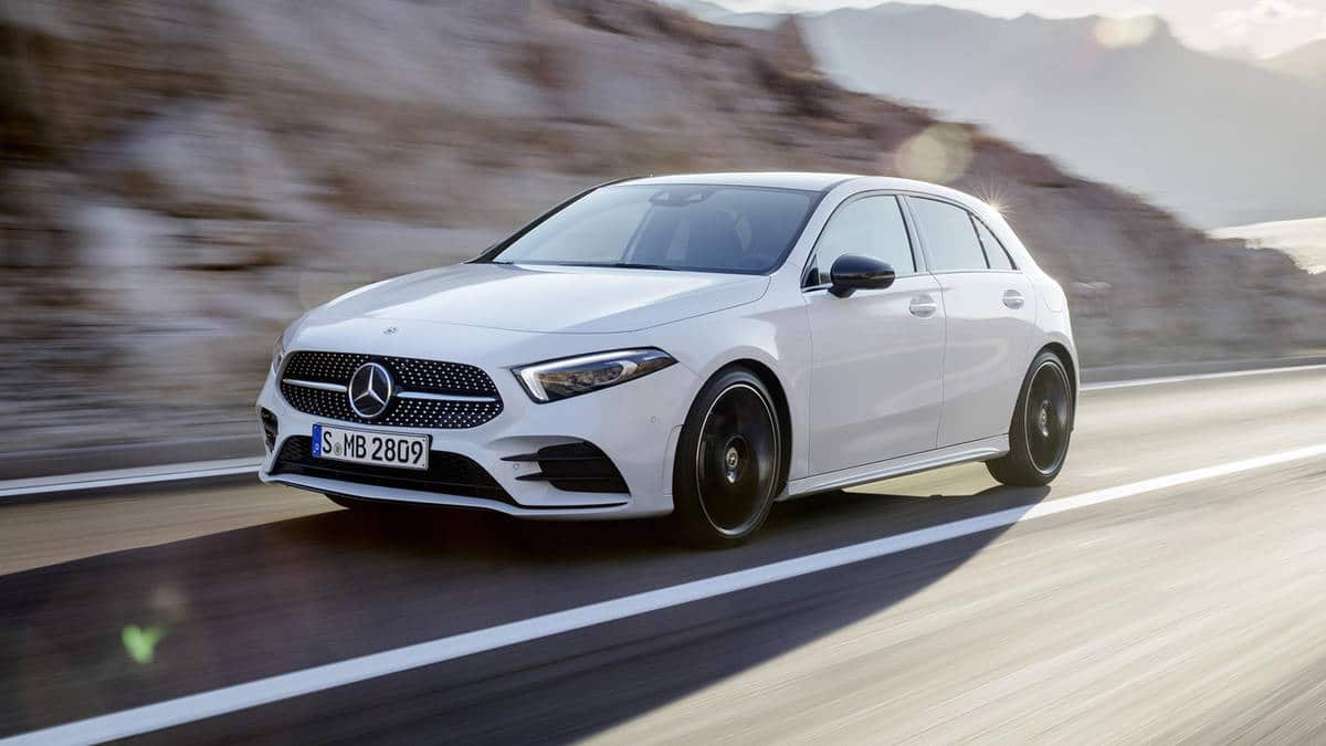 2019 mercedes benz a 250 hatchback starts at 35 990. Black Bedroom Furniture Sets. Home Design Ideas