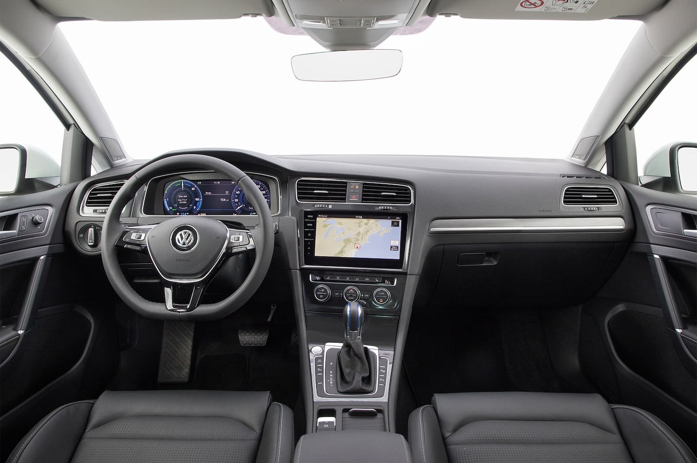 Vw Atlas Interior >> Best Electric Cars 2019 Nomination: Volkswagen e-Golf ...
