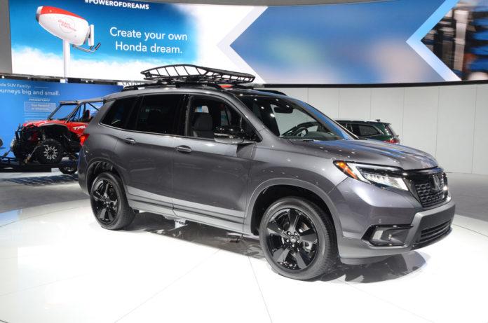 2019 Honda Passport LA Auto Show