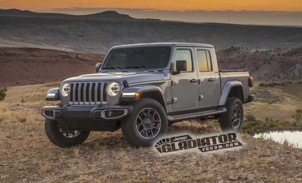 Jeep Gladiator Wrangler Pickup