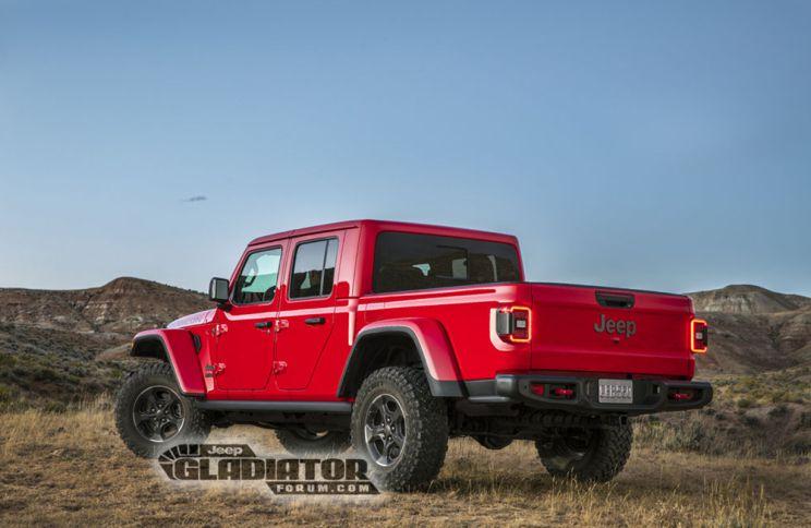 2020 Jeep Gladiator Wrangler Pickup