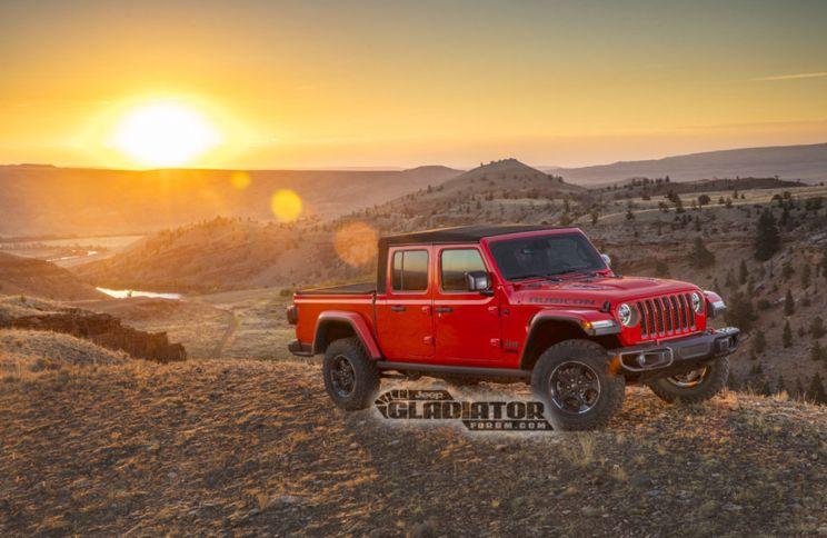 2020 Jeep Gladiator Wrangler Pickup 5