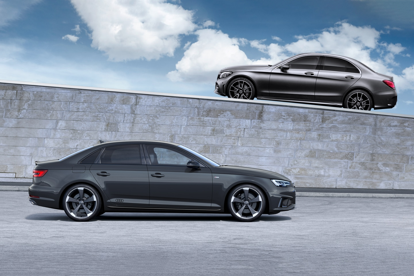 2019 Audi A4 Vs 2019 Mercedes C Class Quick Comparison Motor