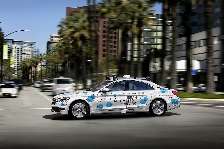 Daimler and Bosch Urban Automated Driving Mercedes-Benz S-Class