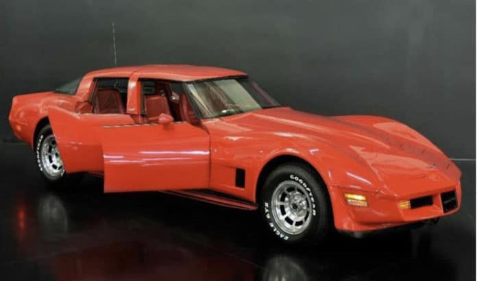 Four-door Chevrolet Corvette