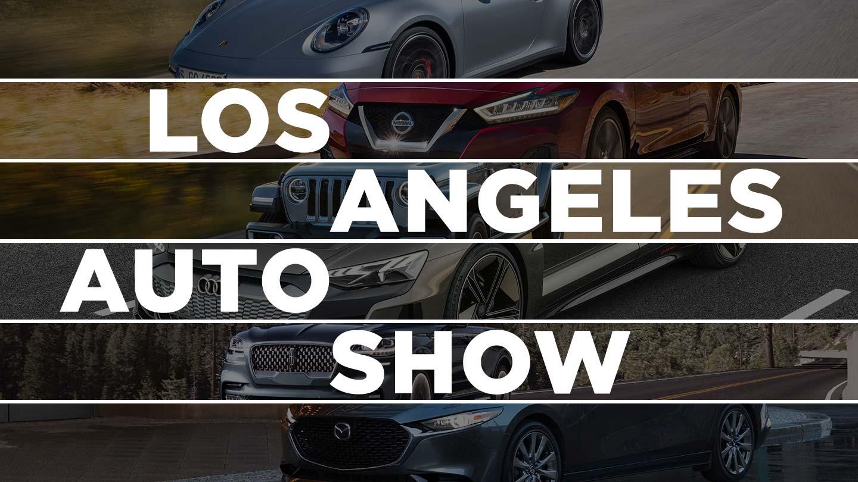 Los Angeles Auto Show 2019 Debuts
