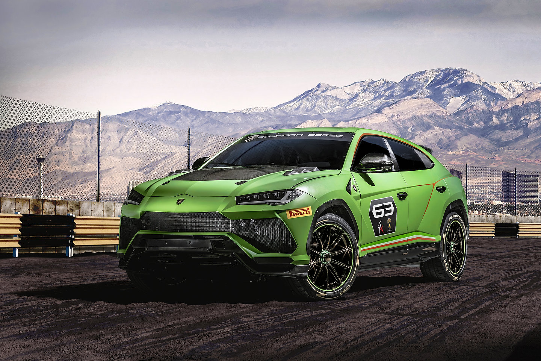 2020 Lamborghini Urus ST-X Concept : The Lambo Truck Goes