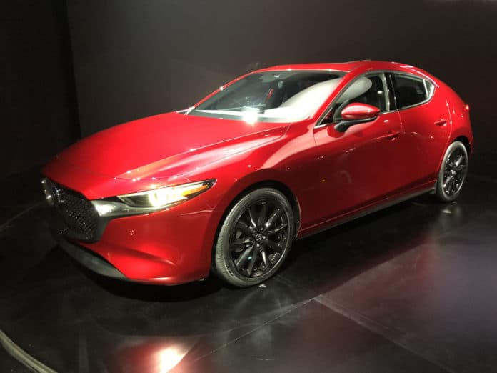La Auto Show 2018 All New 2019 Mazda3 Bows With Awd And Skyactiv X