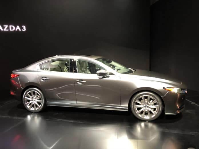 2020 Mazda3 Los Angeles