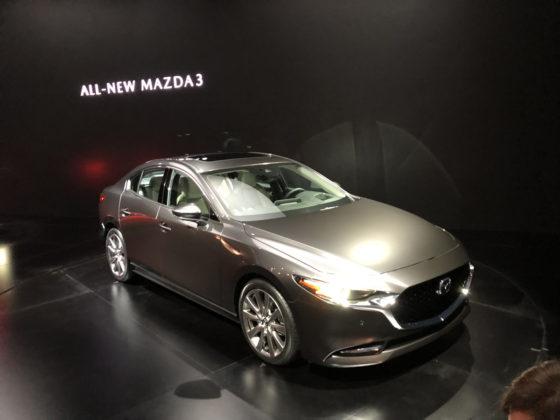 2019 Mazda3 LA Auto Show