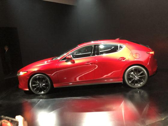 2020 Mazda 3 Hatchback LA Auto Show 2018