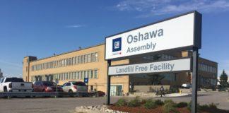 GM Assembly Plant Oshawa