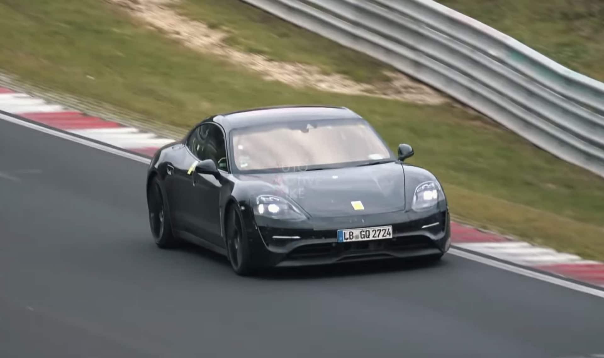 Porsche Taycan Exhaust Sound