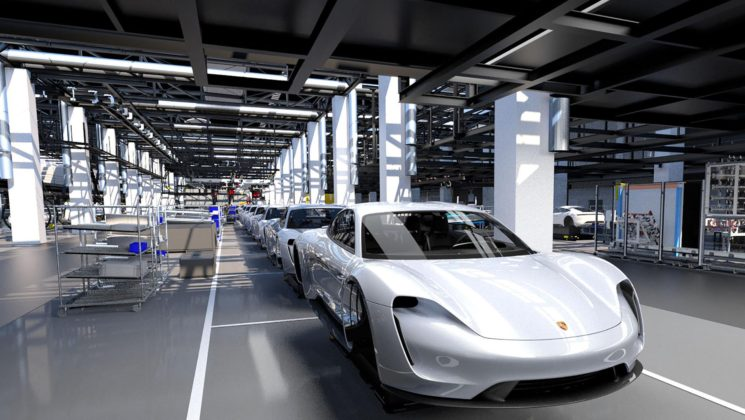 Porsche Taycan Production 4.0 1