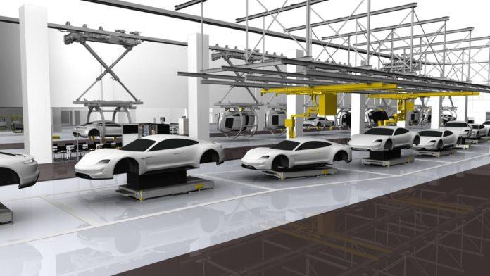 Porsche Taycan Production 4.0 2
