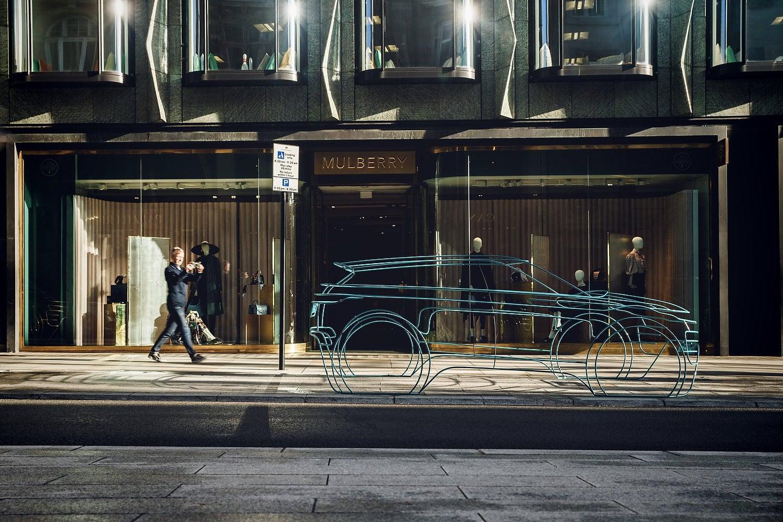 Range Rover Evoque London Art Installations