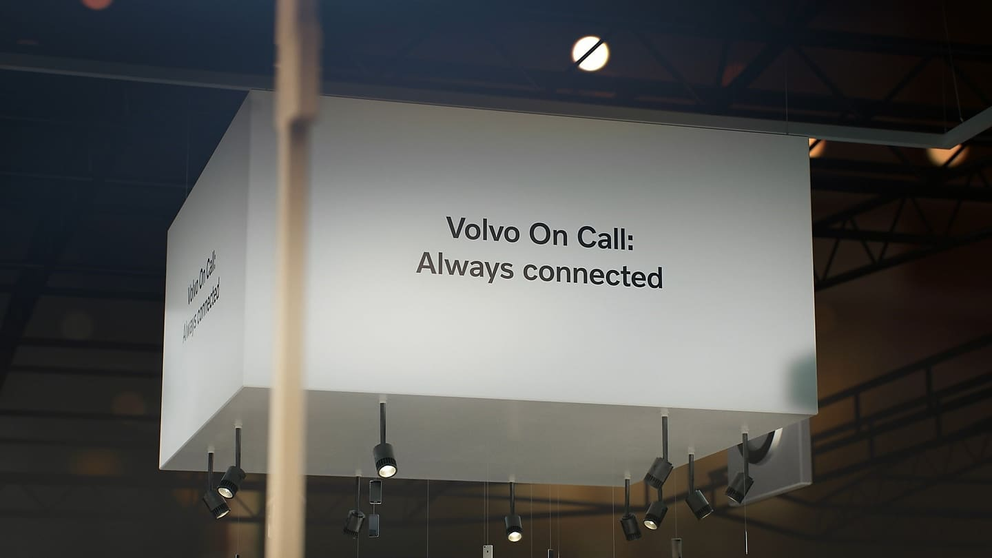 Volvo Display at the Los Angeles Auto Show 2018