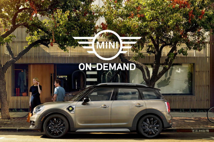 MINI USA Tweet to Test Drive Campaign