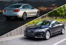 2019 BMW 4 Series Gran Coupe versus 2019 Audi A5 Sportback