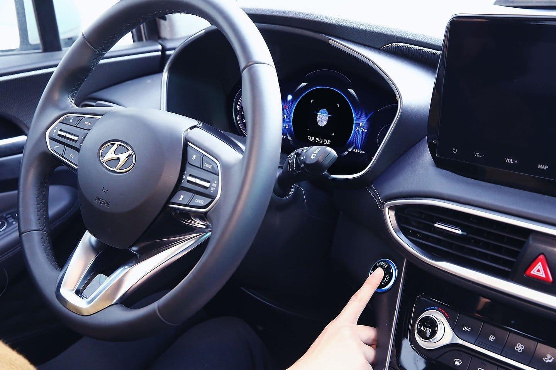 Hyundai Smart Fingerprint Technology on the 2019 Hyundai Santa Fe