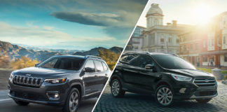 2019 Jeep Cherokee vs. 2019 Ford Escape