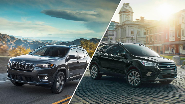 2019 Jeep Cherokee vs. 2019 Ford Escape