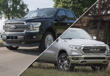 2019 Ram 1500 Limited vs. 2019 Ford F-150 Limited comparison test