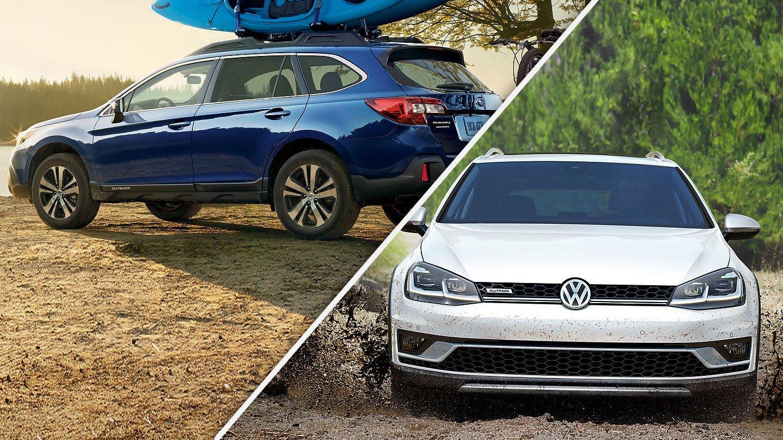 2019 Volkswagen Alltrack Vs 2019 Subaru Outback Quick