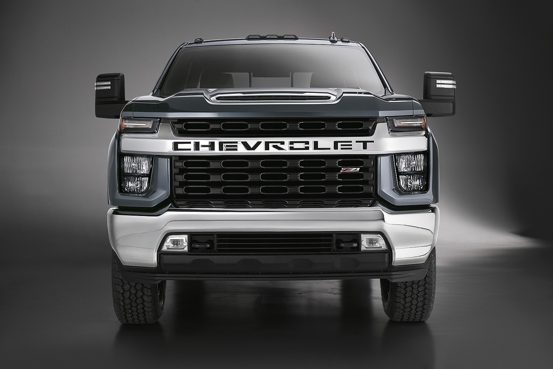 2020 Chevrolet Silverado HD Front