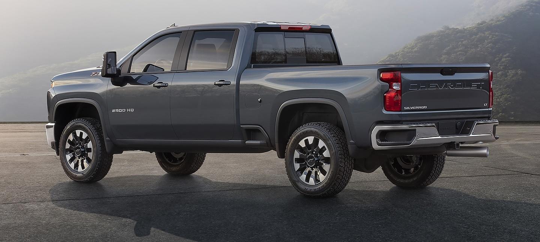 2020 Chevrolet Silverado HD rear 3/4