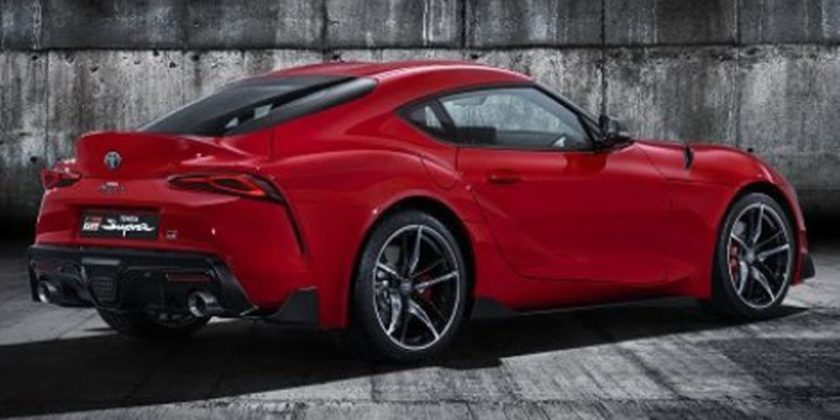 2020 Toyota Supra Leaked Full Rear