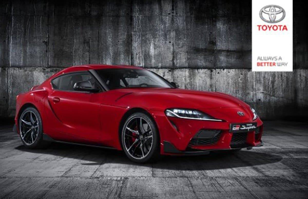 2020 Toyota Supra front full