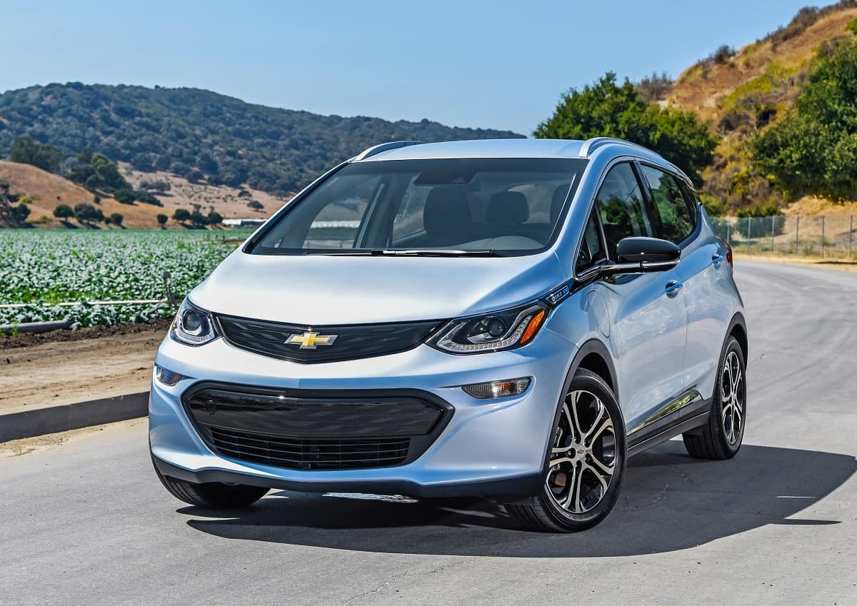 Chevrolet Bolt range